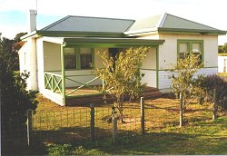 Tobruk Cottage in Robe, SA.